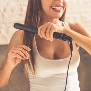 The Safest Ways To Straighten Your Hair